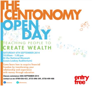 Centonomy Open Day 6th September 2014