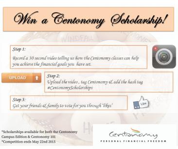 Win A Centonomy Scholarship